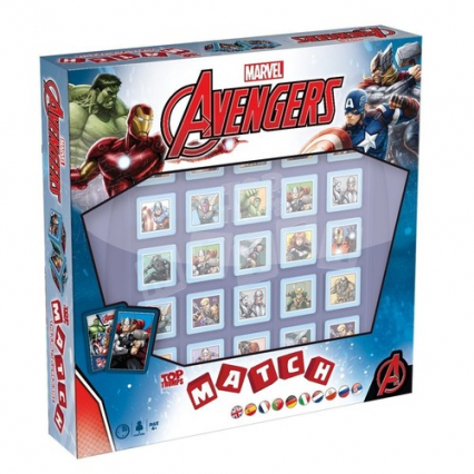 Top Trumps Match Avengers -  | okładka