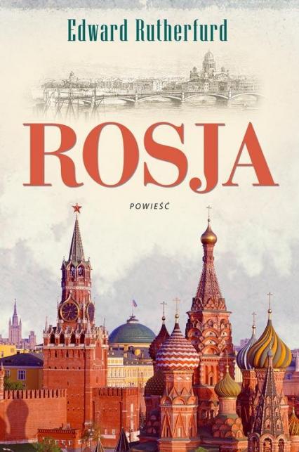 Rosja - Edward Rutherfurd   okładka