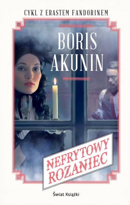 Nefrytowy różaniec - Boris Akunin   okładka