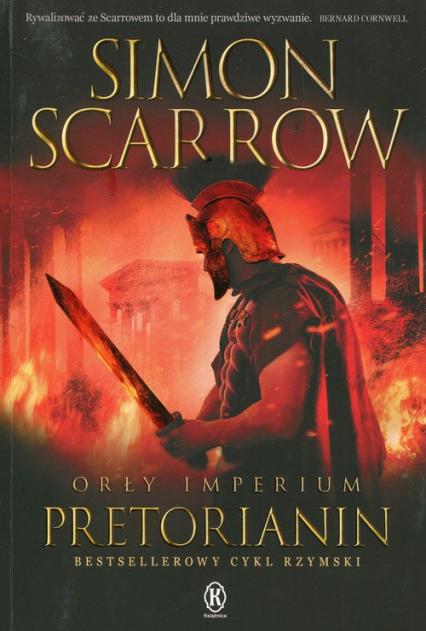 Orły imperium 11 Pretorianin - Simon Scarrow | okładka