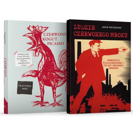 Ludzie czerwonego mroku / Czerwony kogut Picasso Pakiet - Jakub Maciejewski, František Mikš | okładka