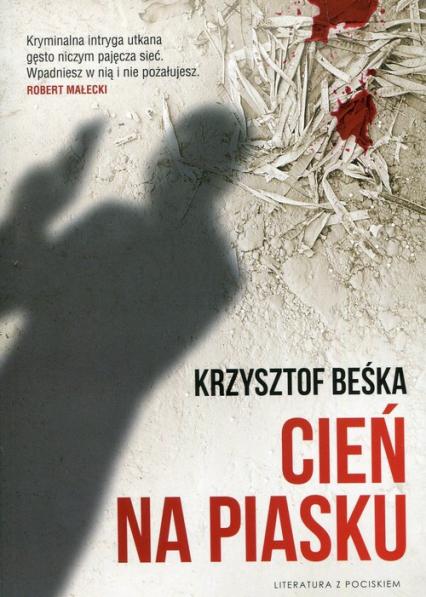 Cień na piasku - Krzysztof Beśka | okładka
