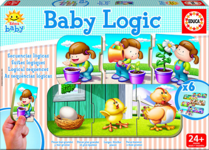 BABY LOGIC gra logiczna dla dzieci - zbiorowa praca | okładka