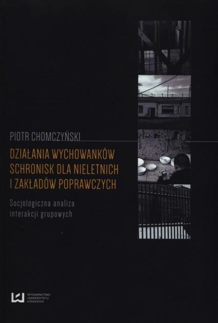 Działania wychowanków schronisk dla nieletnich i zakładów poprawczych Socjologiczna analiza interakcji grupowych - Piotr Chomczyński | okładka
