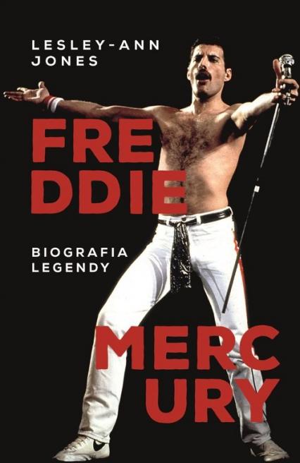 Freddie Mercury - Lesley-Ann Jones | okładka