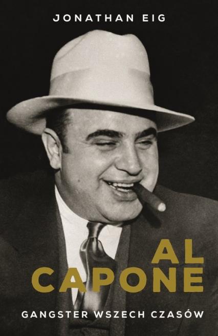 Al Capone - Jonathan Eig   okładka