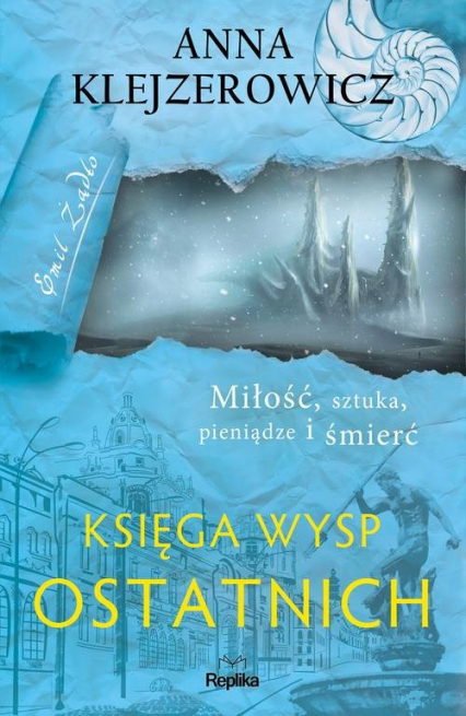 Księga Wysp Ostatnich - Anna Klejzerowicz | okładka