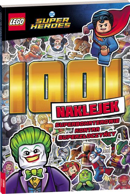 Lego DC Super Heroes 1001 naklejek -  | okładka