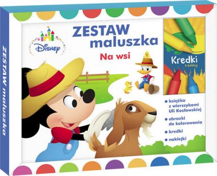 Zestaw maluszka Na wsi Z PM-1 - Urszula Kozłowska   okładka