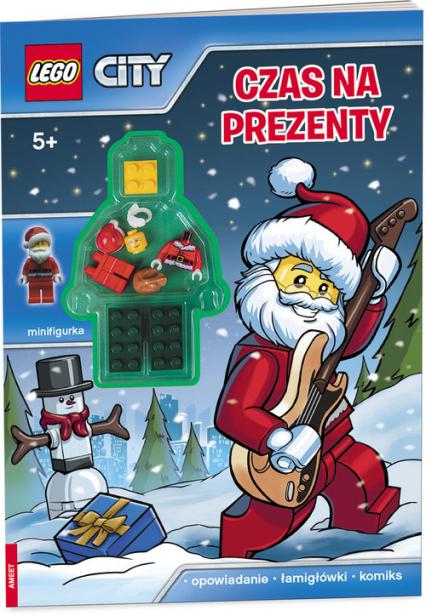 Lego City Czas na prezenty LMJ-14 - zbiorowe opracowanie | okładka