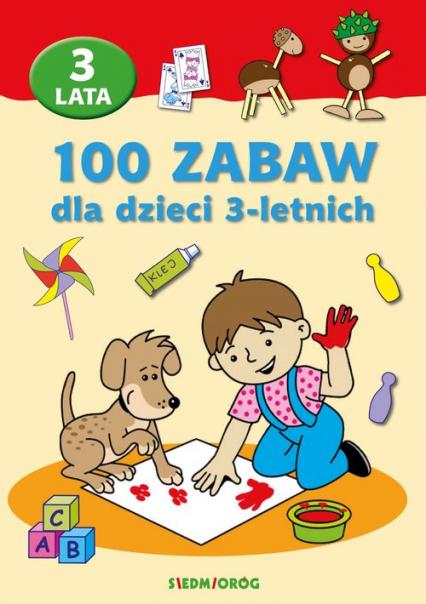100 zabaw dla dzieci 3-letnich - Mariola Langowska   okładka