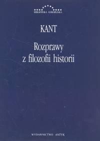 Rozprawy z filozofii historii - Immanuel Kant | okładka