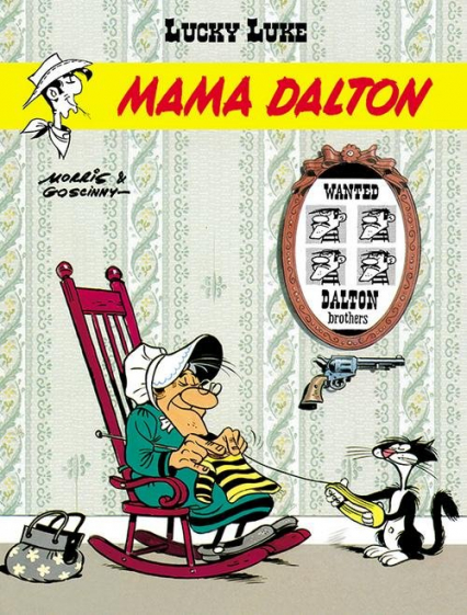 Lucky Luke Mama Dalton Tom 38 - Goscinny René, . Morris | okładka