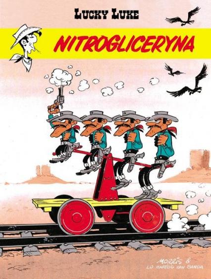 Lucky Luke Nitrogliceryna - Van Banda Lo Hartog Banda | okładka