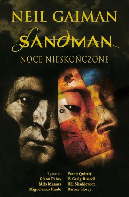 Sandman Noce nieskończone - Gaiman Neil, Fabry Glenn, Manara Milo, Prado Miguelanxo, Quitely Frank, Russell P. Craig | okładka