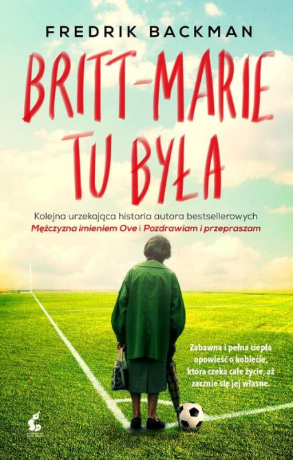 Britt Marie tu była - Fredrik Backman | okładka