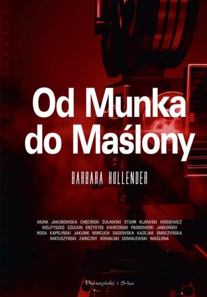 Od Munka do Maślony - Barbara Hollender | okładka