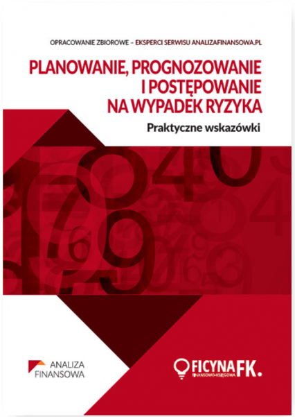 Planowanie prognozowanie ipostępowanie na wypadek ryzyka Praktyczne wskazówki - zbiorowa Praca | okładka