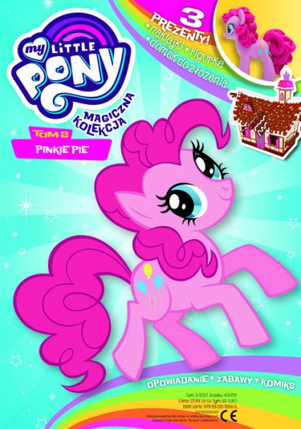 My Little Pony - Magiczna kolekcja - zbiorowa praca   okładka