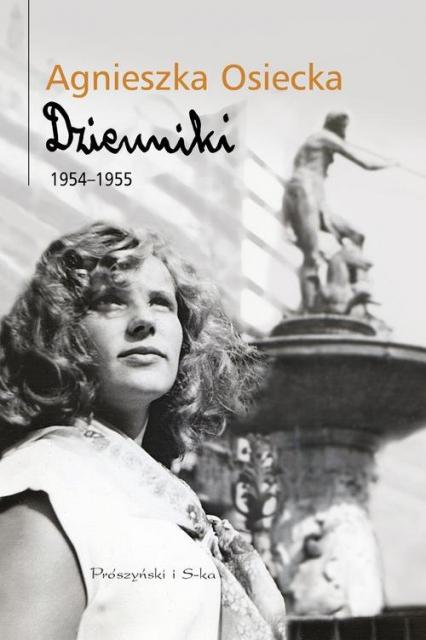 Dzienniki 1954-1955 - Agnieszka Osiecka   okładka