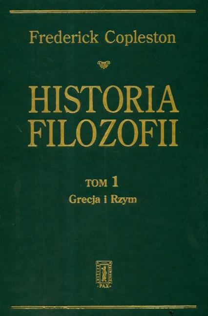 Historia filozofii t.1 - Frederick Copleston | okładka