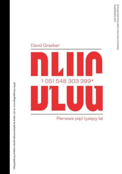 Dług Pierwsze pięć tysięcy lat - David Graeber | okładka