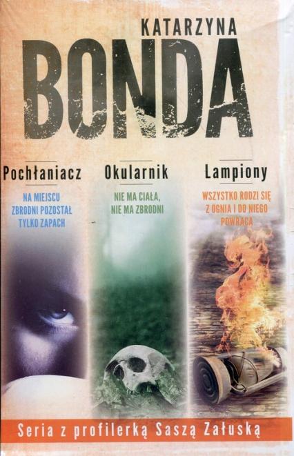 Pochłaniacz / Okularnik / Lampiony Pakiet - Katarzyna Bonda | okładka