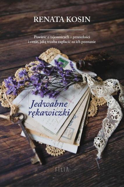 Jedwabne rękawiczki - Renata Kosin | okładka