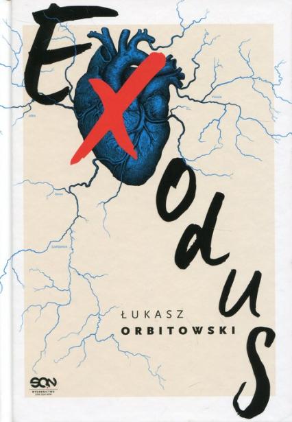 Exodus - Łukasz Orbitowski   okładka
