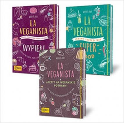 La Veganista / La Veganista Superfood / La Veganista Wypieki Pakiet - Nicole Just | okładka