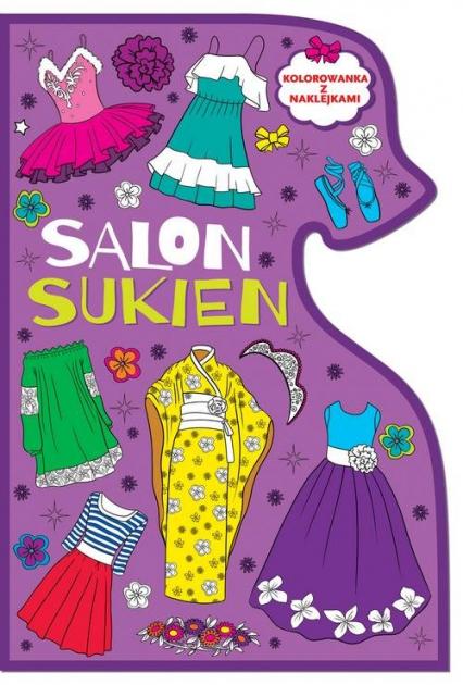 Kolorowanki Salon sukien -  | okładka