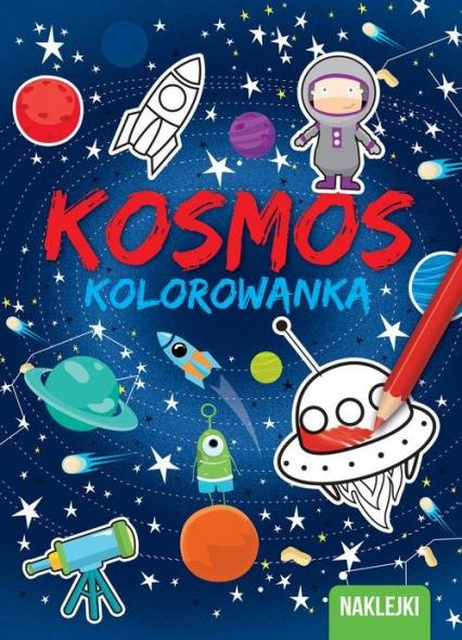 Kolorowanki Kosmos -  | okładka