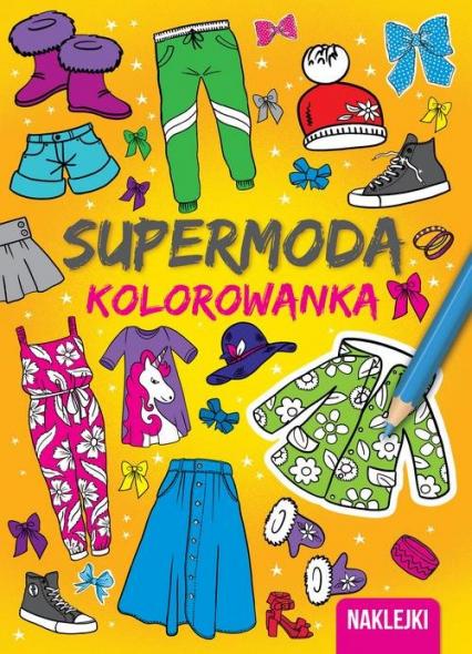 Kolorowanki Supermoda -  | okładka