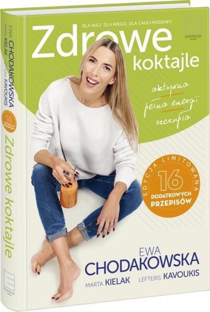 Zdrowe koktajle - Ewa Chodakowska | okładka
