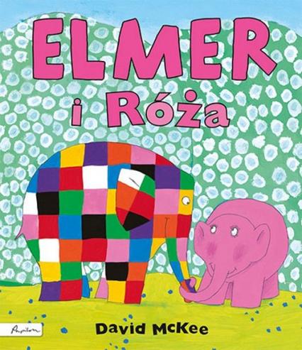 Elmer i Róża - David McKee   okładka