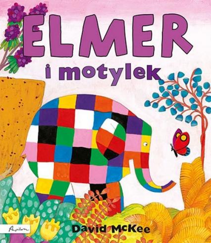 Elmer i motylek - David McKee | okładka