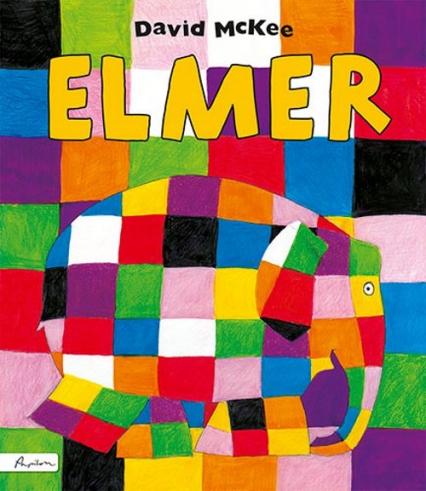 Elmer - David McKee | okładka