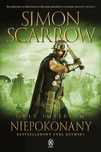 Orły imperium 15 Niepokonany - Simon Scarrow | okładka