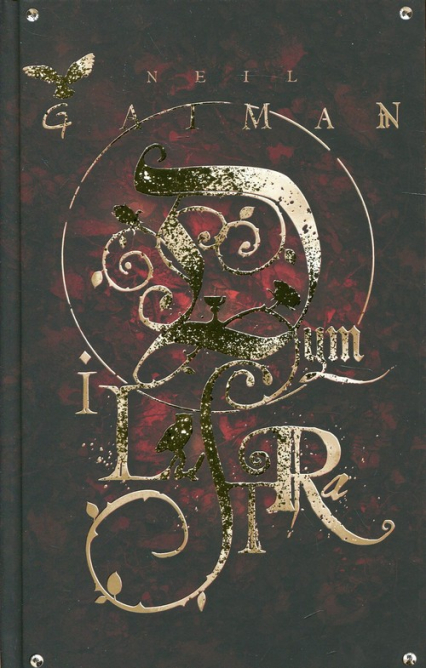 Dym i lustra - Neil Gaiman | okładka