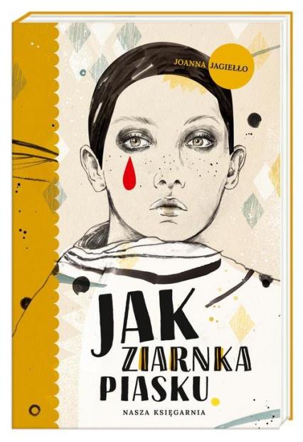 Jak ziarnka piasku - Joanna Jagiełło | okładka