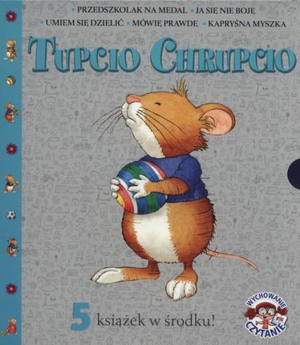 Tupcio Chrupcio 5 książek w środku Pakiet - Eliza Piotrowska | okładka