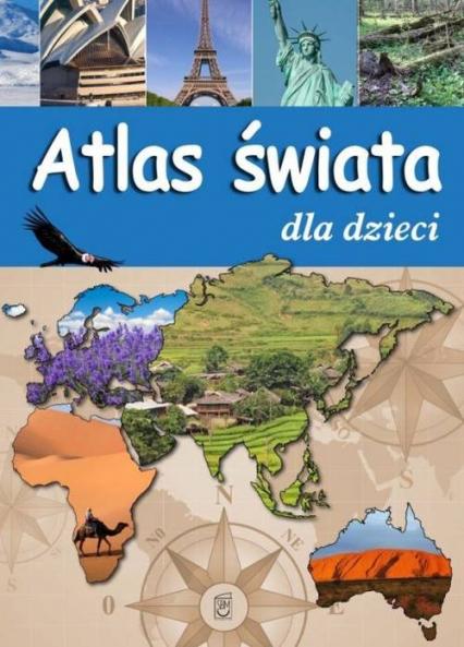 Atlas świata dla dzieci -  | okładka