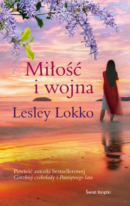 Miłość i wojna - Lesley Lokko | okładka