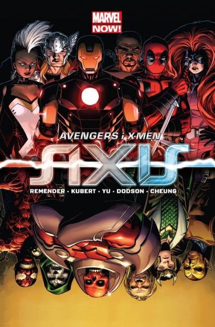 Avengers i X-Men Axis - Remender Rick, Kubert Adam, FrancisYu Leinil, Dodson Terry, Cheung Jim | okładka