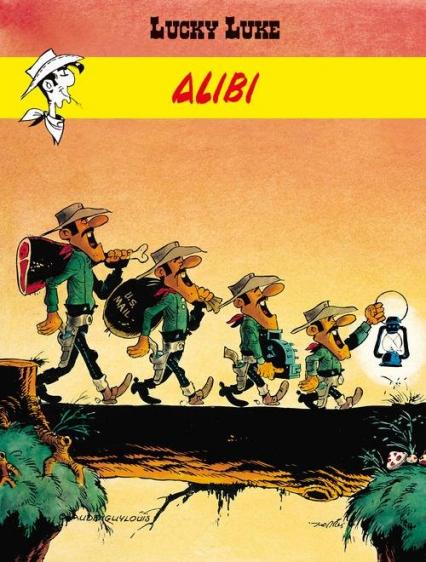 Lucky Luke Alibi - Guylouis Claude, Morris   okładka