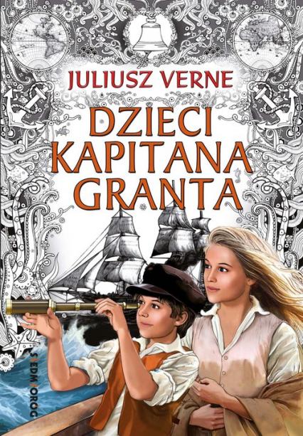Dzieci kapitana Granta - Juliusz Verne | okładka