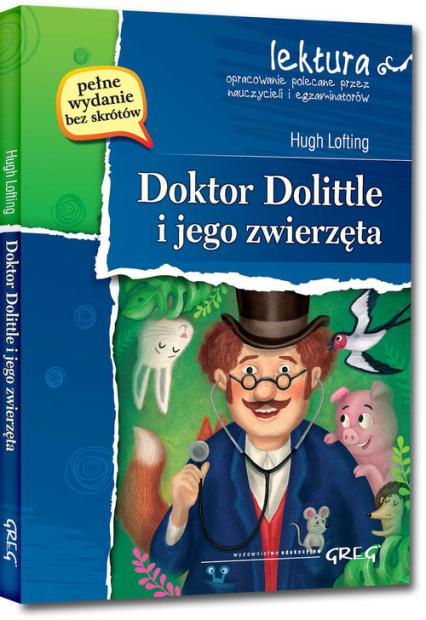 Doktor Dolittle i jego zwierzęta - Hugh Lofting | okładka