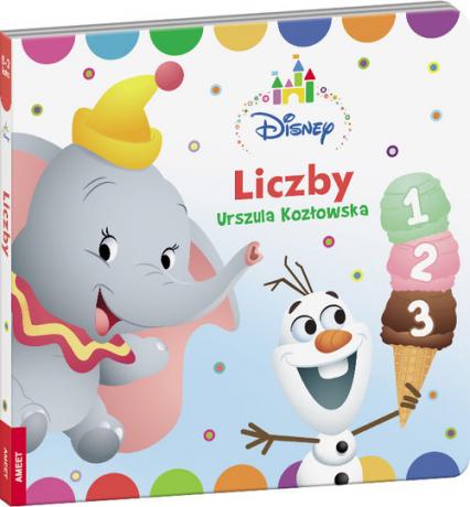 Disney Maluch Liczby DBN-7 - Urszula Kozłowska | okładka