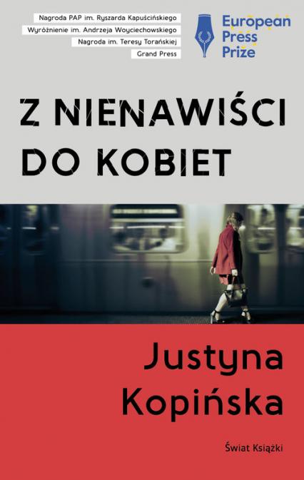 Z nienawiści do kobiet - Justyna Kopińska | okładka