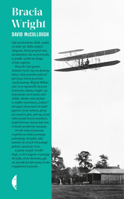 Bracia Wright - David McCullough | okładka
